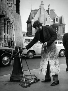 Artiste de rue, 1962