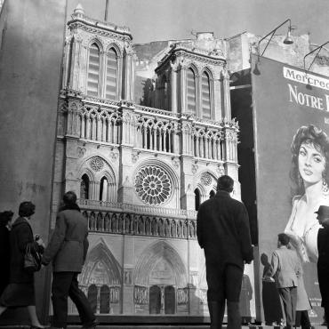 Publicité pour le film « Notre-Dame de Paris » #2, 1956