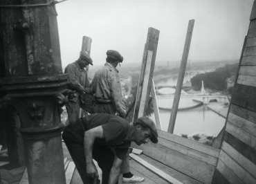 Travaux à Paris, 1935