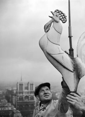 Le coq de la Sainte-Chapelle, vers 1930