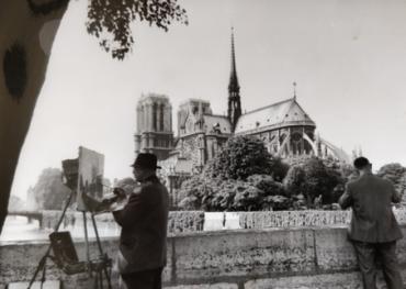 Notre-Dame, Paris, 1968