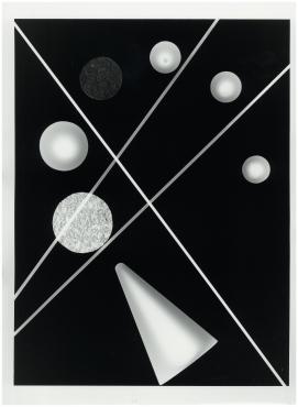 Photogramme géométrique #1, 2018