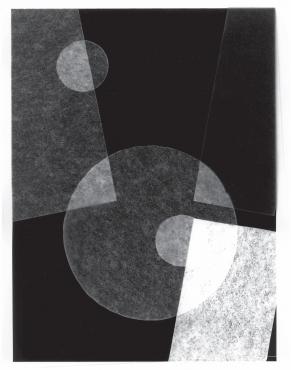 Photogramme géométrique #2, 2018