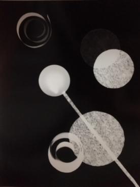Photogramme géométrique #4, 2017