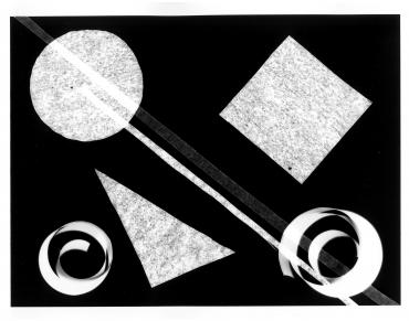 Photogramme géométrique #5, 2017