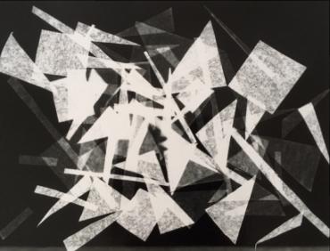 Photogramme géométrique #3, 2017
