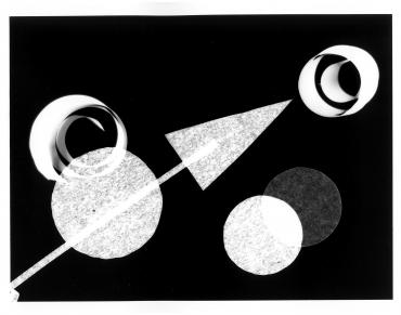 Photogramme géométrique #1, 2017