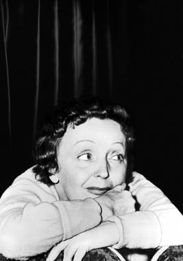 Edith Piaf, vers 1960