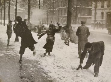 Paris sous la neige #2, 1948