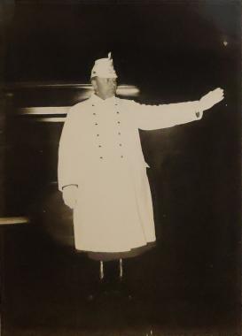 Les Schupos blancs, vers 1930