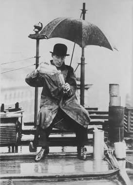 Le météorologiste, vers 1930