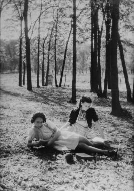 Derniers beaux jours au bois de Vincennes, vers 1950
