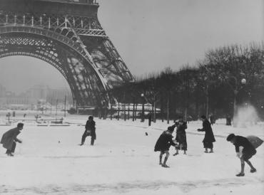 Paris sous la neige #4, vers 1950