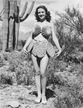 Piquante tenue, Tucson, Arizona, 1940