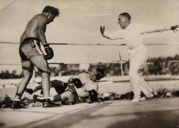 Marcel Cerdan contre Jean Pankowiak, 1946