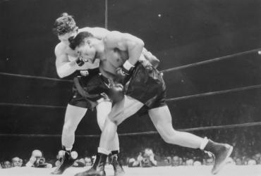 Morris Reif se défoule, New York, 1946