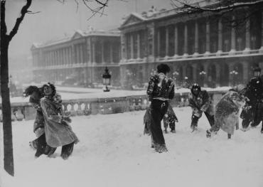 Paris sous la neige #1, 1948