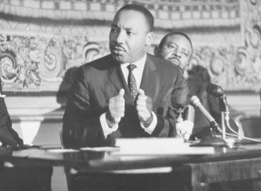 Martin Luther King, apôtre de la non-violence, Oslo, Norvège, 1964
