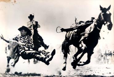 Photo gagnant le deuxième prix non-professionnelle du concours photo Graflex, 1949