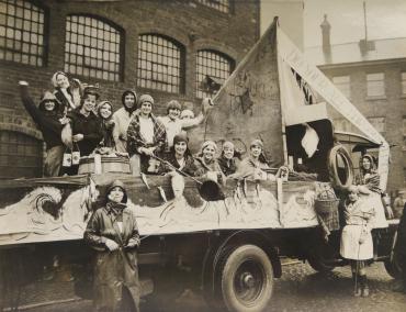 Carnaval des étudiants pour l'hopital de Birmingham, 1872