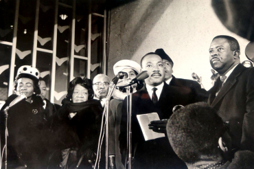 Martin Luther King, Oslo, Norvège, 1964