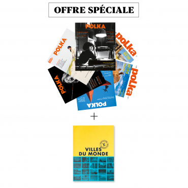 """2 ans (6 numéros) + """"Villes du monde"""" de Tendance Floue / Louis Vuitton"""