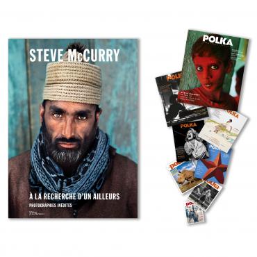 """2 ans (8 numéros) + """"A la recherche d'un ailleurs"""" de Steve McCurry"""