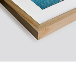 Cadre en bois chêne naturel