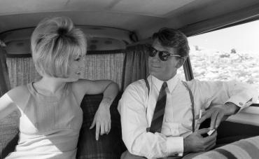 Jean Marais et Mylène Demongeot, 1964