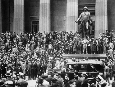 Crack de Wall Street, 1929