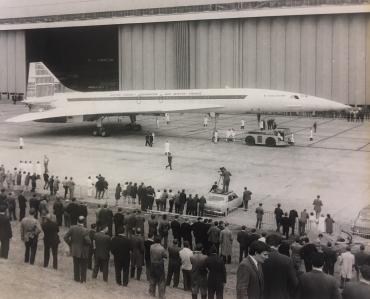 Prototype Concorde 002, 1968