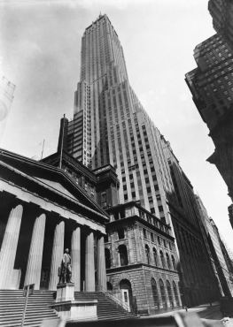Wall Street, New York, 1930