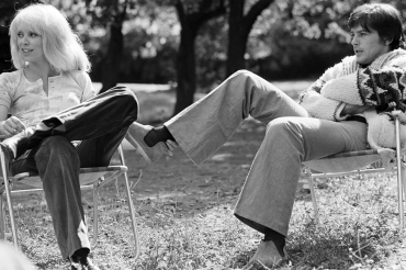 Alain Delon et Mireille Darc, 1969