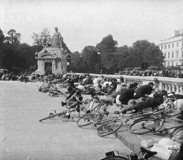 Scène de panique à Paris, 1944