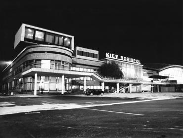 L'aéroport de Boryspil, Ukraine, 1979