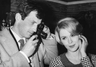 Jean-Paul Belmondo et Jean Seberg, 1964