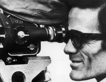 Pier Paolo Pasolini avec une caméra, 1974