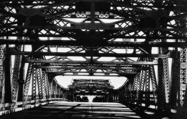 Le pont reliant Oakland et San Francisco, 1949