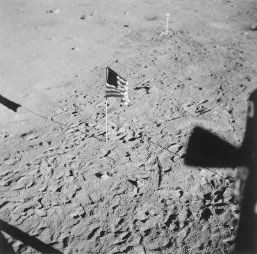 Les premiers pas d'un homme sur la lune, 1969