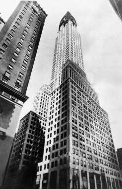 Le Chrysler Building, New York, Etats-Unis, 1930