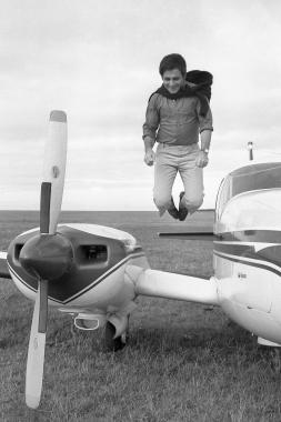 Richard Anthony, pilote de l'air, 1967